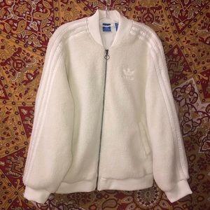 NWT Sherpa Adidas jacket